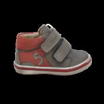 Szürke-piros cipő (20-22)