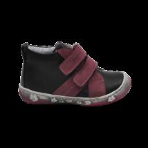 Fekete-mályva cipő  (19-24)