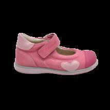 Szíves rózsaszín szandálcipő (23)