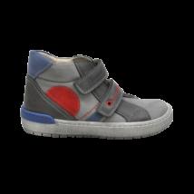 Piros mintás szürke cipő (29)