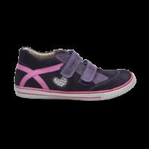 Lila szíves cipő (34-35)