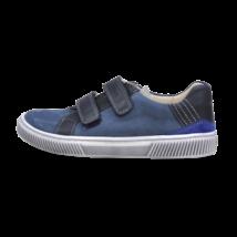 Kék tépőzáras átmeneti cipő (31-35)