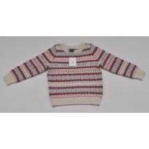Kötött pulóver (86-92)