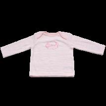Csíkos pizsama felső (68-74)
