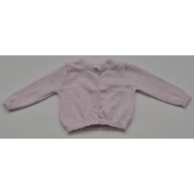 Rózsaszín kardigán (56-62)