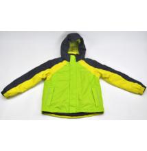 Zöld kapucnis kabát