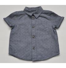 Kék, mintás ing