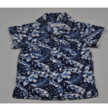 Levél mintás ing