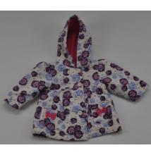 Rózsa mintás kabát