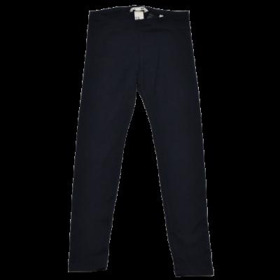 Sötétkék pamut leggings (128)