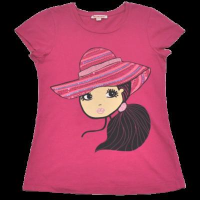 Pink kislányos póló (134)