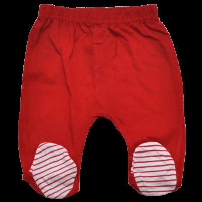 Piros lábfejes nadrág (56)