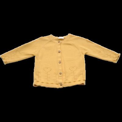 Mustár színű kardigán (68)