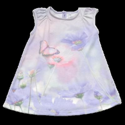 Lila mintás ruha (98)
