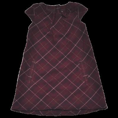 Kockás alkalmi ruha (122)