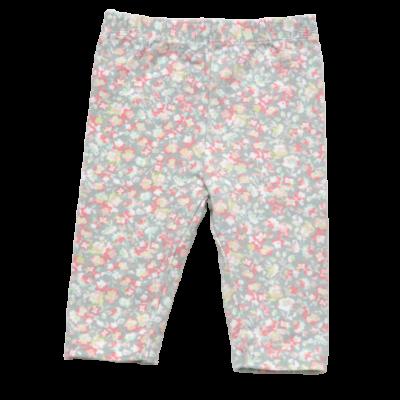 Virágos leggings (56-62)