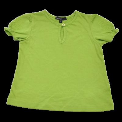 Zöld hímzett póló (92)