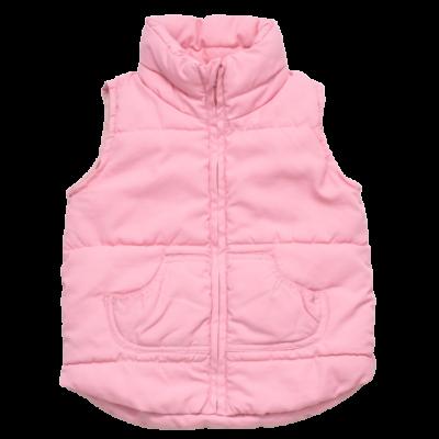 Rózsaszín steppelt mellény (86)