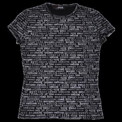 Fekete Morgan póló (152-158)