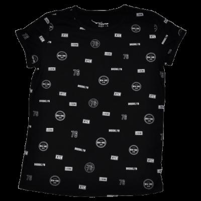 Fekete-fehér póló (S)