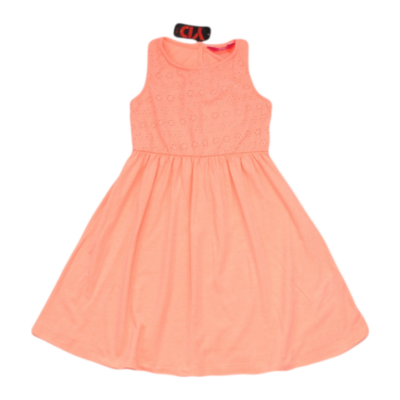Neon korall ruha (128)