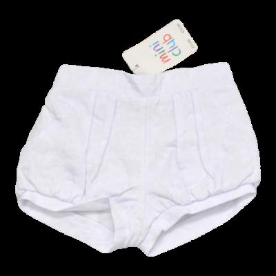 Fehér rövidnadrág (74-80)