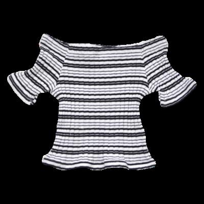 Csónak nyakú póló (128)
