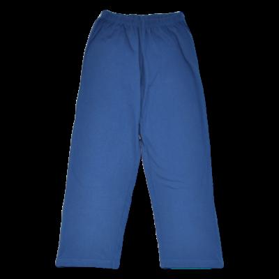 Acélkék pizsama alsó (122-128)