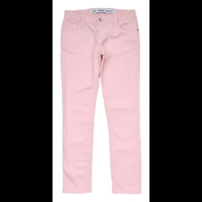 Világos rózsaszín farmernadrág (128)