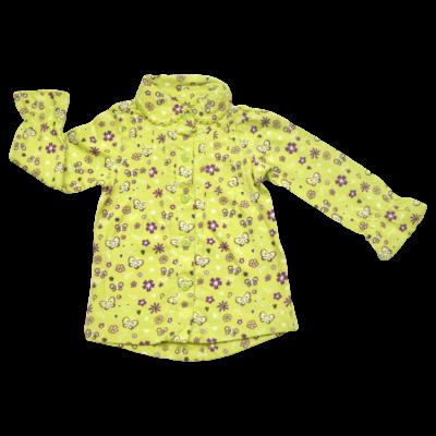 Zöld virágos tunika (56)