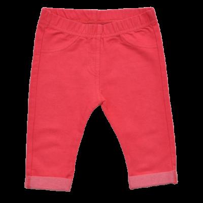 Piros farmer hatású leggings (62-68)