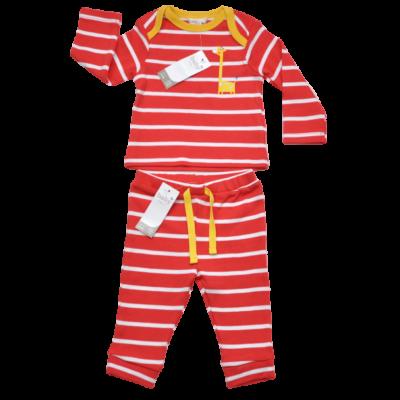 csíkos baba ruha szett