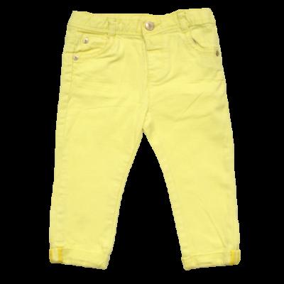 sárga baba farmernadrág