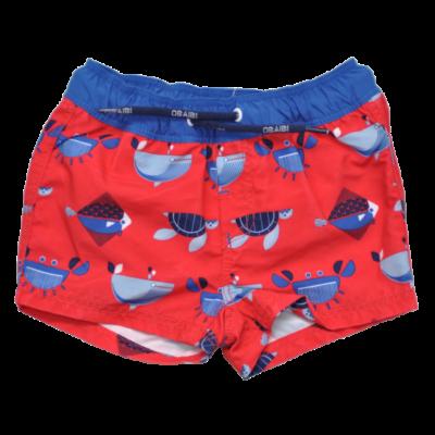 piros gyerek úszónadrág