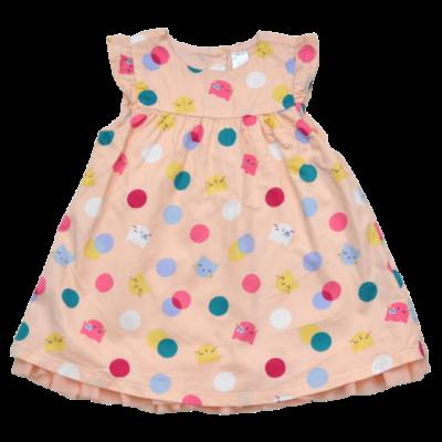 cica mintás nyári gyerekruha