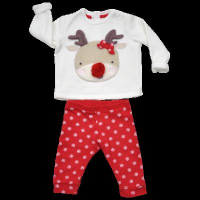Rudolf karácsonyi babaruha.