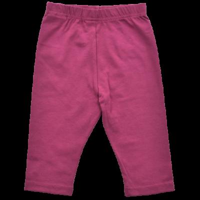 Rózsaszín rövid kislány leggings.