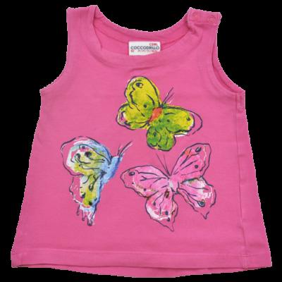 Rózsaszín pillangós trikó (92)