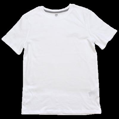 H&M fehér torna póló H&M-146-152-es méret.
