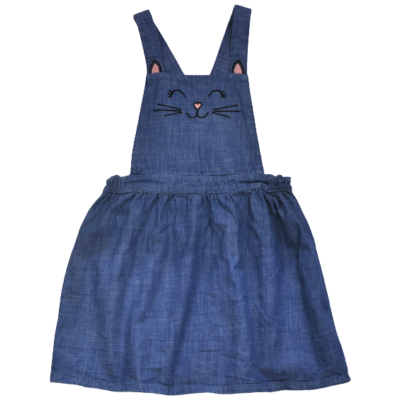 H&M kantáros gyerek farmer szoknya-122-128