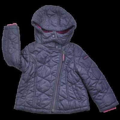 Lila steppelt kabát-lányoknak-98-as méretben.