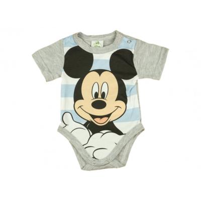 Csíkos Mickey egeres body (56-62)