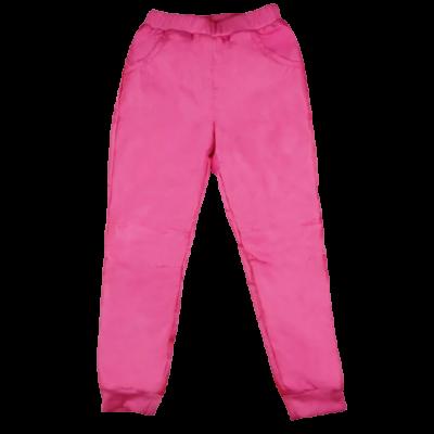 Rózsaszín bélelt sínadrág kislányoknak.