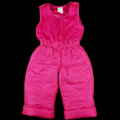 Rózsaszín gyerek síoverál.