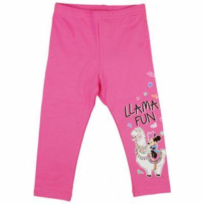Minnie és láma pink leggings (98)