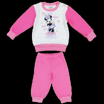Minnie-lány-pizsama-hosszú-ujjal-(98-110)