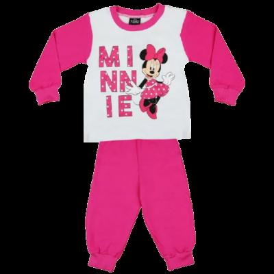 minnie-lány-pizsama-hosszú-ujjal