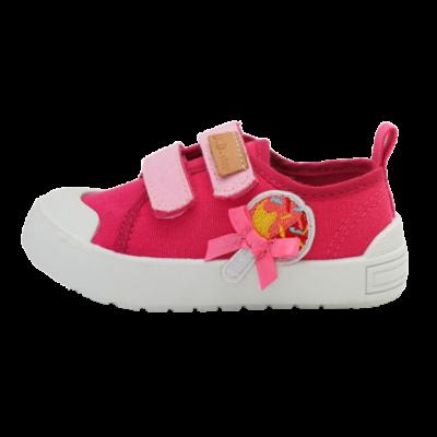 pink nyalókás vászoncipő