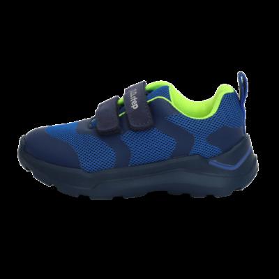 Kék-zöld vízlepergetős sportcipő (24-29)