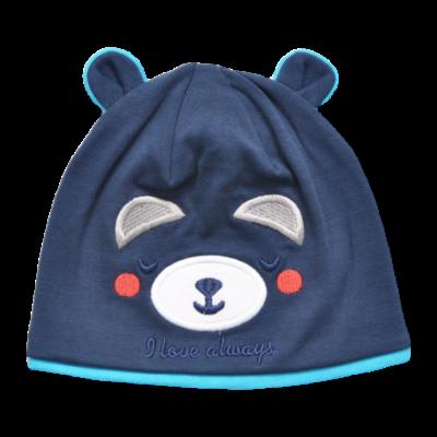 Kék macis sapka (48)